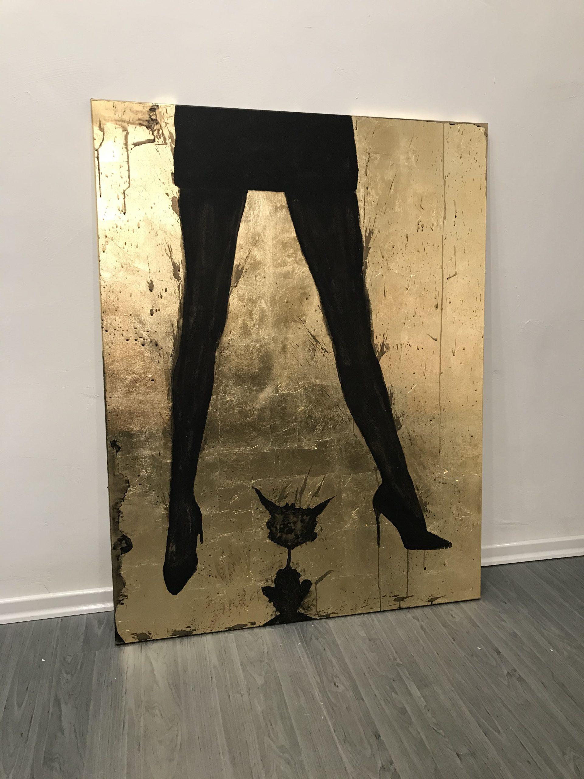 "Titel: ""Dark Woman II"" 100*120cm Sascha Dahl"