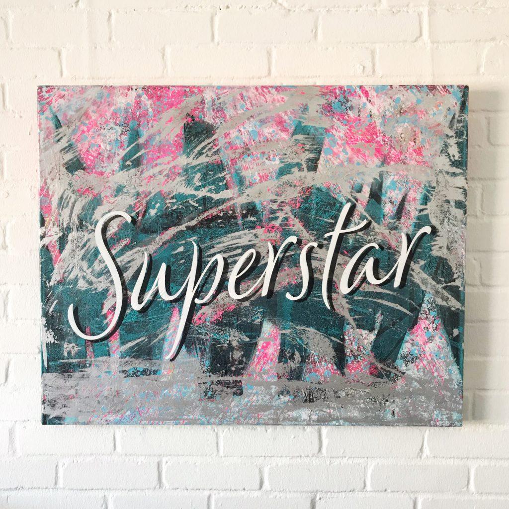 "Titel: ""Superstar"" 80*100cm Sascha Dahl"
