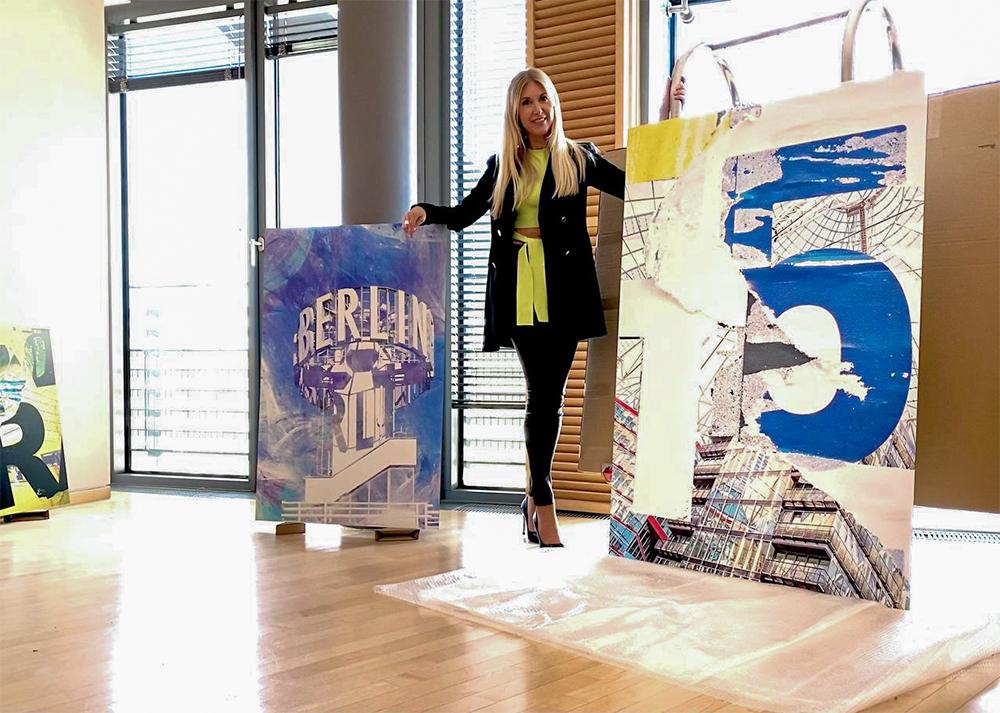 Aufbau Sony Center Sascha Dahl